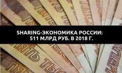 Sharing-экономика в России дорастет до 511 млрд рублей