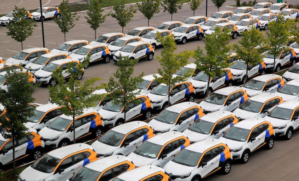каршеринг парковка