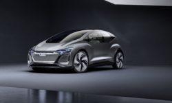 Audi представила электро-хэтчбек AI: ME