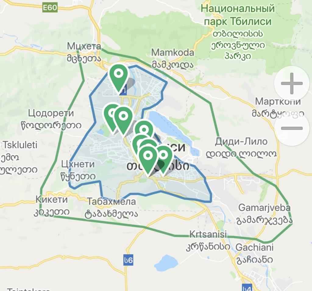каршеринг в грузии