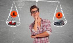 Российский кикшеринг: самокат по цене автомобиля